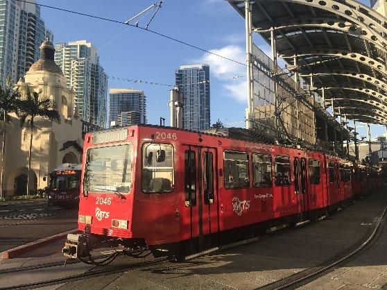 サンディエゴの路面電車