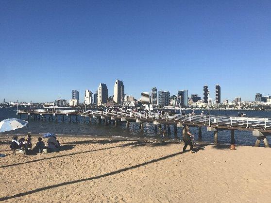 サンディエゴ・コロナドビーチ
