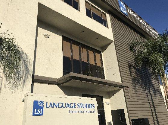 サンディエゴの語学学校の風景・LSI