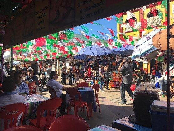 メキシコ旅行の風景