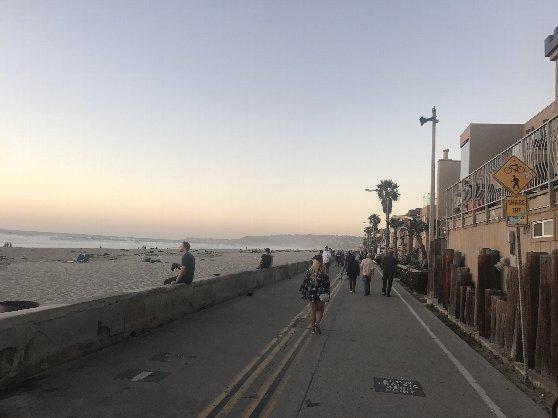 サンディエゴ・ミッションビーチ